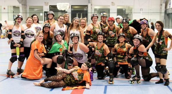 Roller derby team