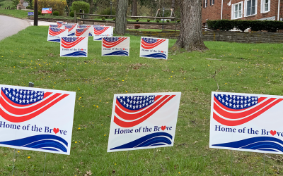 home of the brave signs