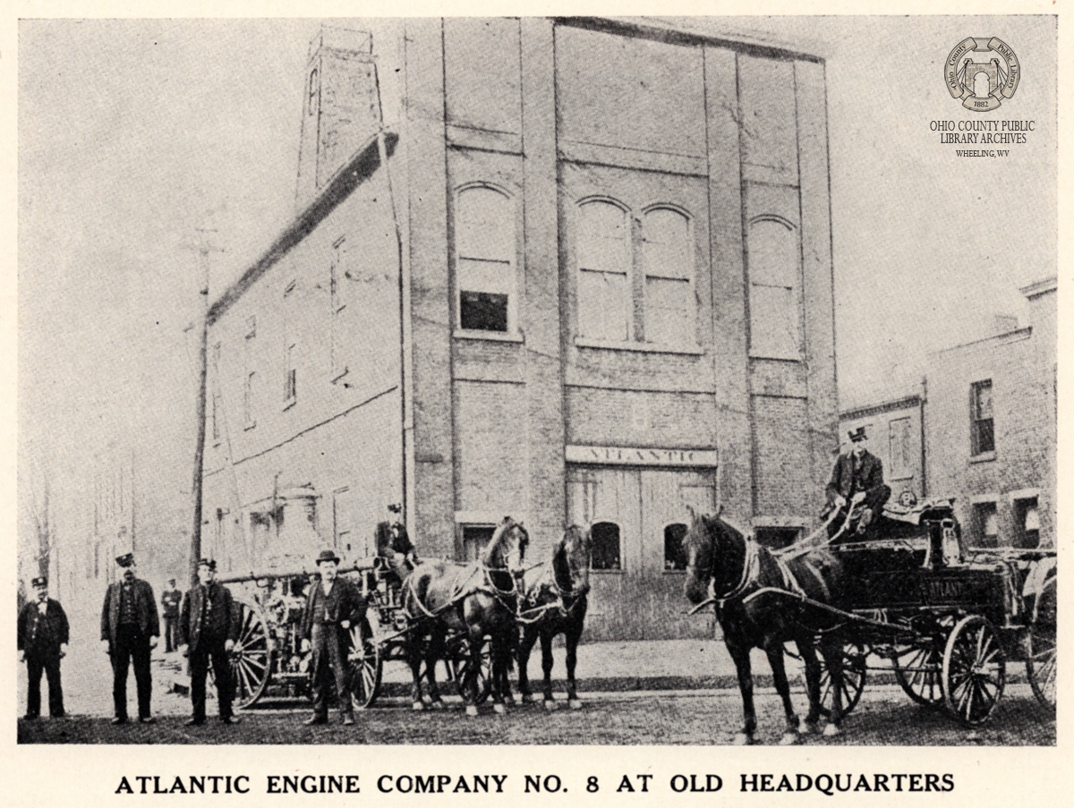historic fire fighters