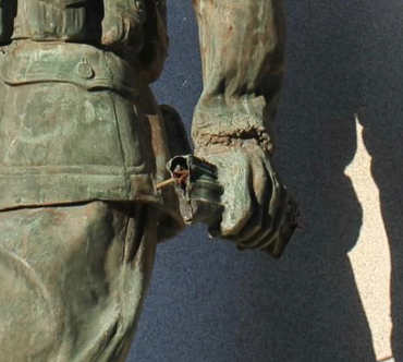 Doughboy Closeup
