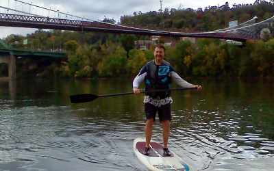 Surfing the Ohio River