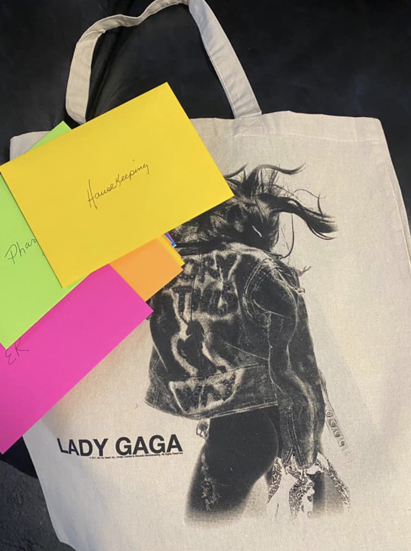 Lady Gaga gift bag
