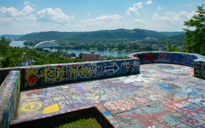 Mt. Wood Overlook: Wheeling WV's Castle is Community Treasure