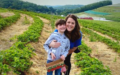 trax farm strawberry picking