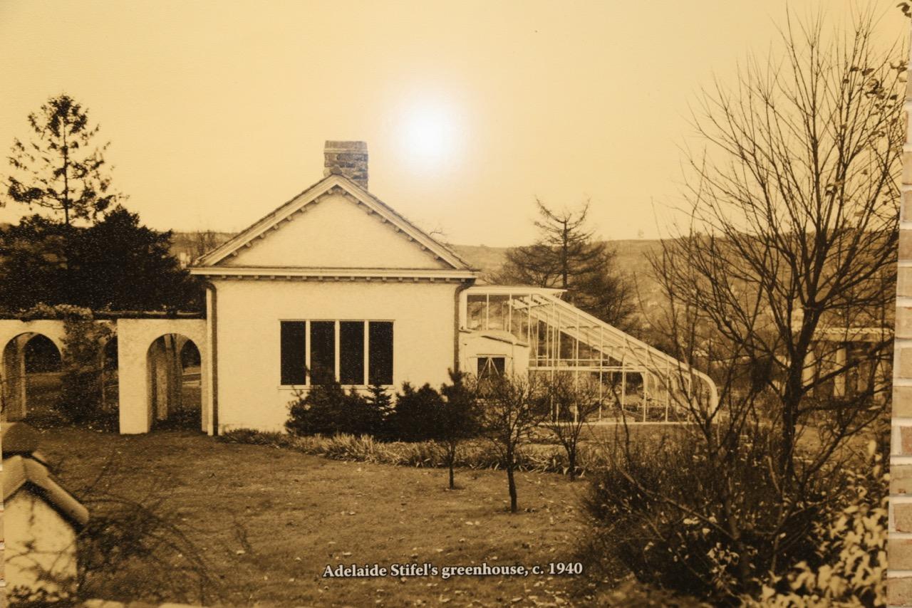 Adelaide Stifel greenhouse
